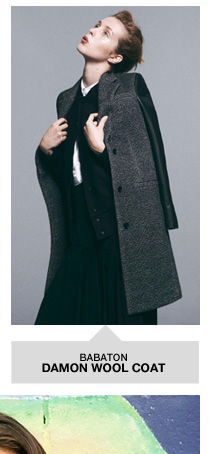 Babaton Damon Wool Coat