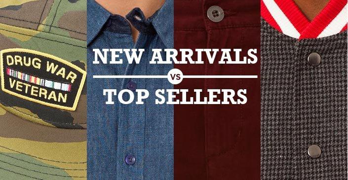 New Arrivals v. Top Sellers