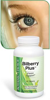 Bilberry Plus promotes vision, hair, and nail health
