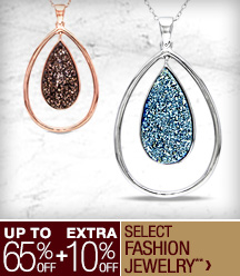 Up to 65% off + Extra 10% off Select Gemstones, Pearls, & Fashion Jewerly