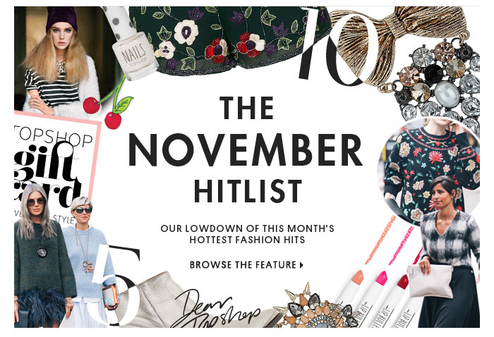 THE NOVEMBER HITLIST - BROWSE THE FEATURE