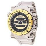 Invicta 13074 Men's Coalition Forces Yellow Dial Steel Bracelet Chrono Watch