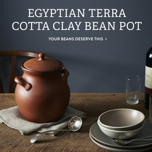 Clay Bean Pot