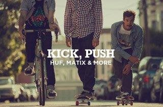 Kick, Push