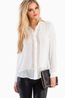 SHEER ME ON BLOUSE 35