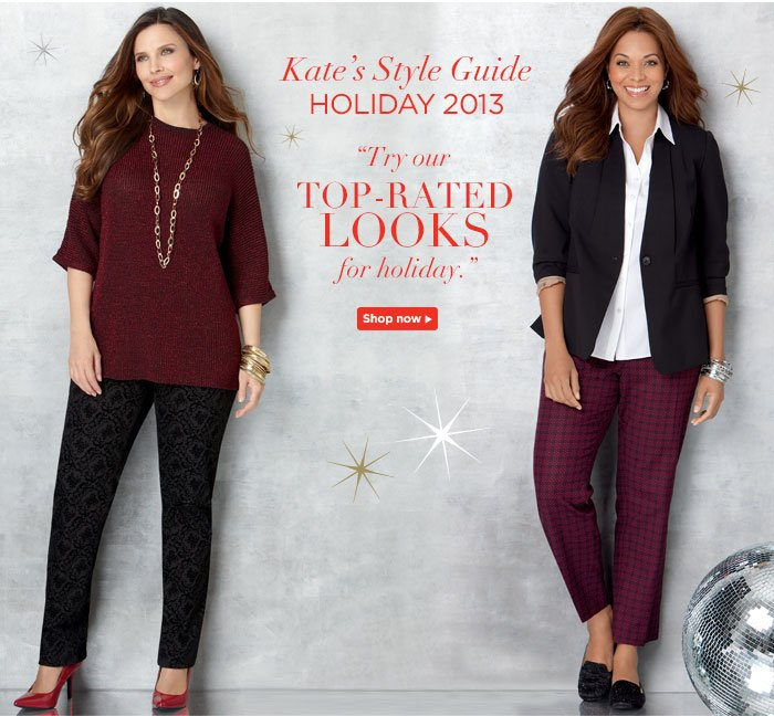 Try our Top-Rated Looks for Holiday!