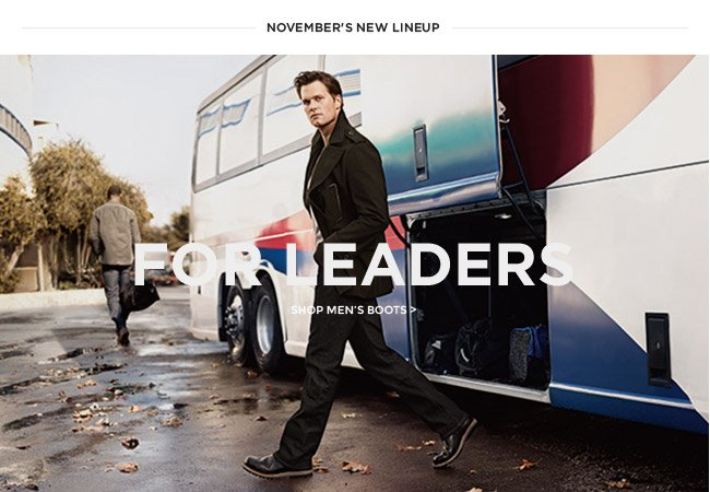 FOR LEADERS - SHOP MEN'S BOOTS