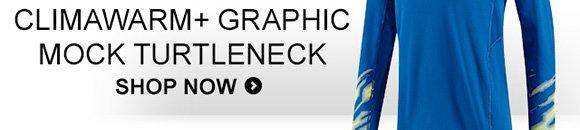 Shop Men's Climawarm+ Graphic Mock  Turtleneck »