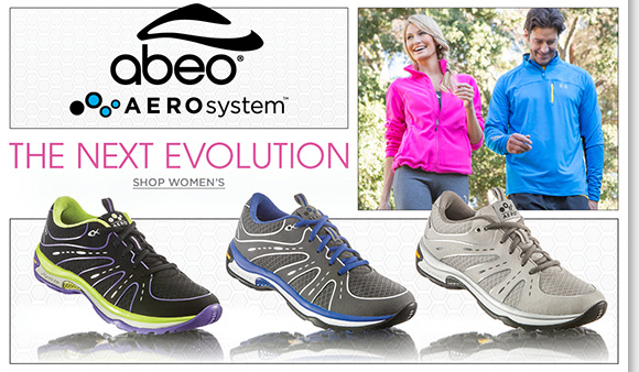 Shop ABEO AEROsystem, our #1 performance athletic shoes for men and women featuring over 60 Vibram® pillars for the ultimate comfort. Hurry for great savings, the Fall Shoe Sale and Boots Sale end tomorrow! Enjoy FREE 2nd Day Shipping on ALL boots!* Shop now for the best selection online and in stores at The Walking Company.