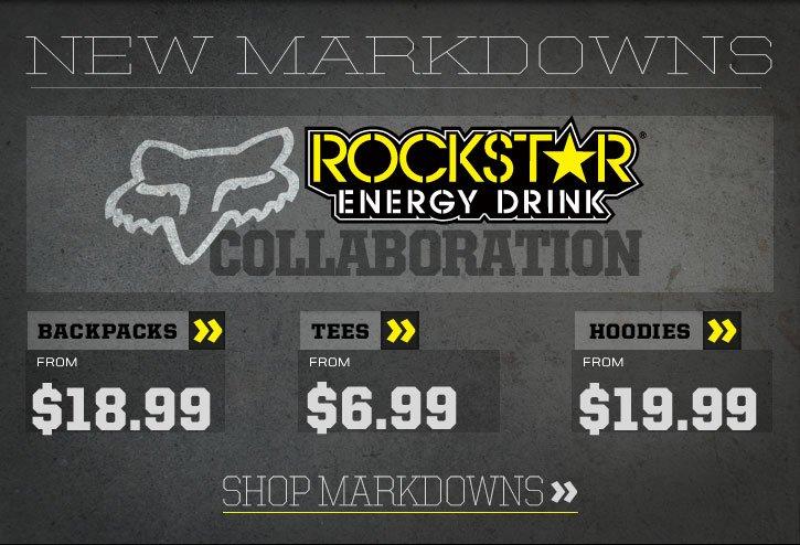 New Markdowns -Rockstar X Fox