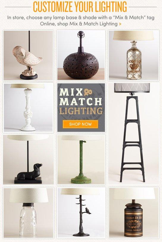 Customize Your Lighting