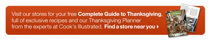 Visit our stores for your free Complete  Guide to Thanksgiving.