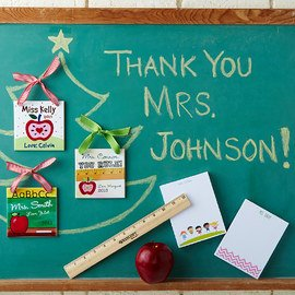 Thank the Teacher: Personalized Gifts