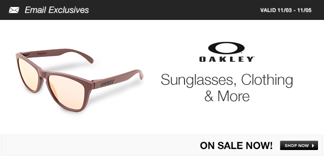Oakley Sunglasses, Clothing and More
