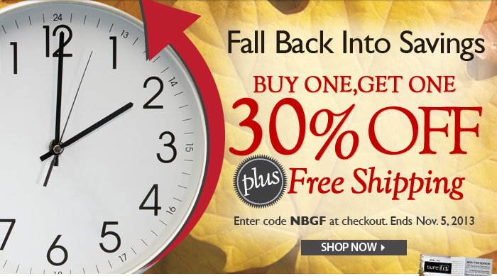 Fall Back into Savings