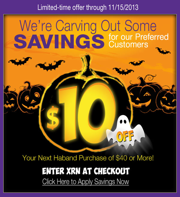 $10 OFF* your purchase