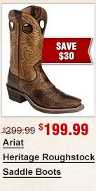 Ariat Heritage Roughstock Saddle Boots