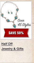 Half off Jewelry and Gifts