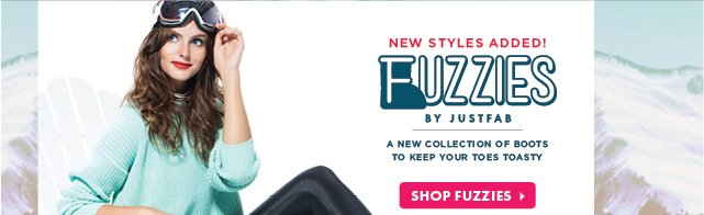 New Styles Added! Fuzzies by JustFab - Shop Fuzzies