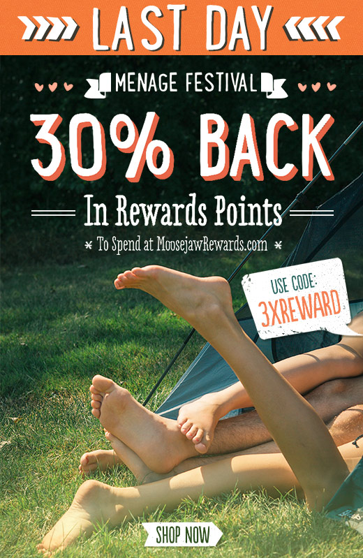 Last Day  -  30% back with code 3XREWARD