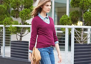 Starting at $55: V-Neck Sweaters