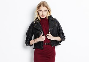 Leather & Faux Leather Jackets