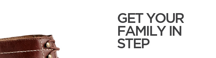 GET YOUR FAMILY IN STEP