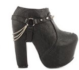 Crossed Off Platform Bootie - $84.99
