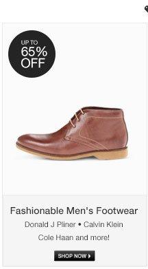 Fashionable Men's Footwear