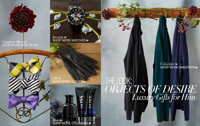 Shop Objects of Desire: Gifts for Men