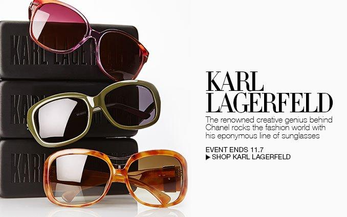 Shop Karl Lagerfeld Sunglasses