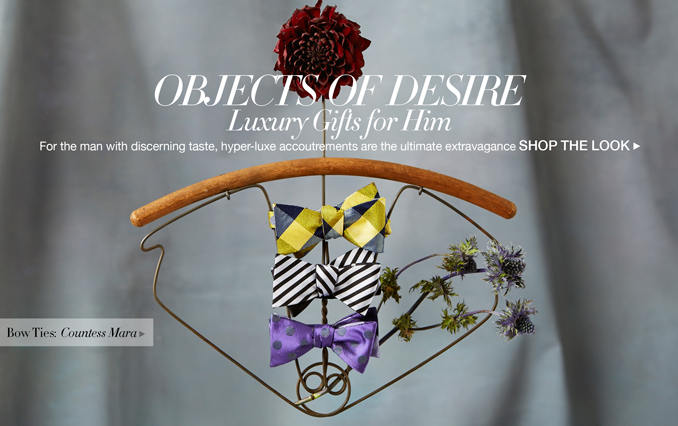 Shop Objects of Desire: Gifts for Men - Bow Ties