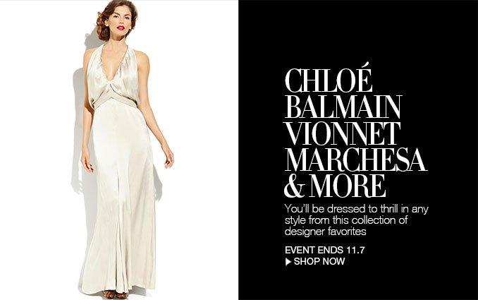 Shop Designer Evening Dresses
