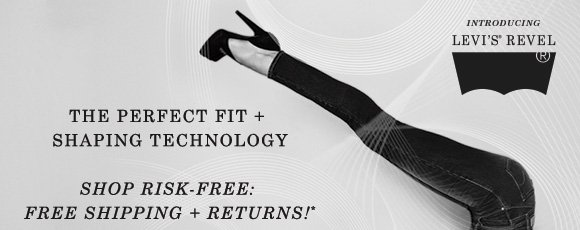 The perfect fit +  shaping technology Shop risk-free: Free shipping + returns!*
