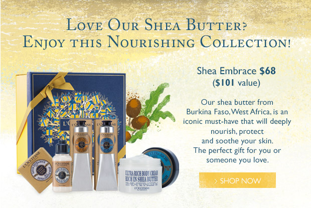 Love our Shea Butter? Enjoy this Nourishing Collection!