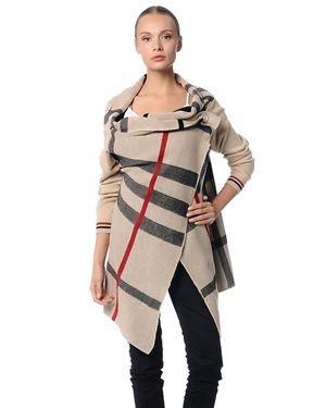 Polkadot Striped Cardigan Made in Europe
