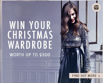 WIN YOUR CHRISTMAS WARDROBE