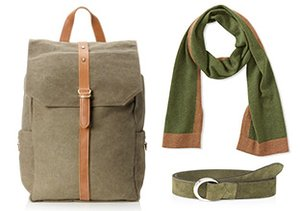 Color Pop: Green Accessories