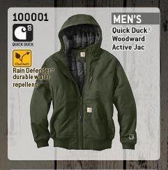 Men's Quick Duck Woodward Active Jac