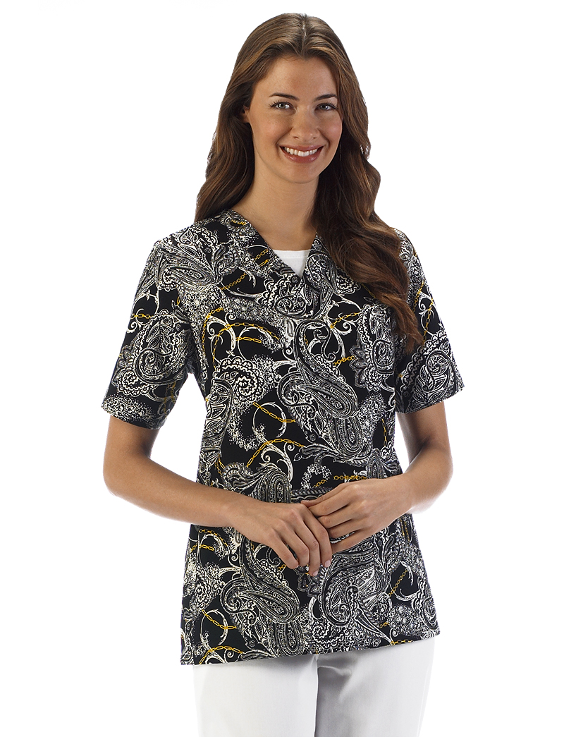 Chain Reaction 2 Pocket Scrub Top