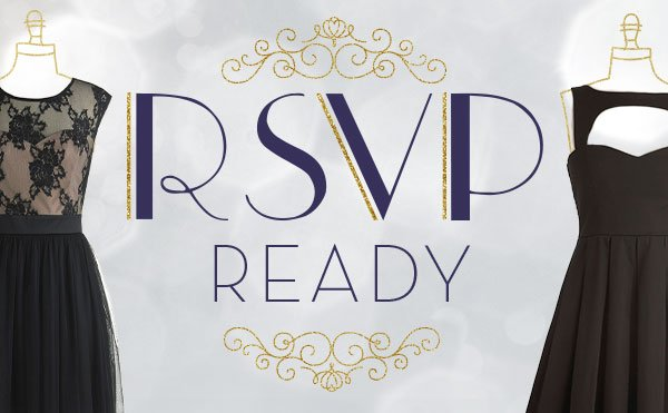 RSVP Ready - 20% off party frocks!