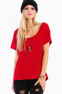 FALLING BEHIND TUNIC TOP 25
