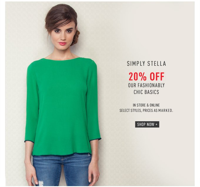 Simply Stella - 20% Off