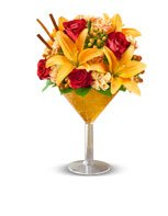 Birthday Add some flavor to every Fall birthday with our Martini Bouquet™ Pumpkin Spice, hand-designed and served up fresh!