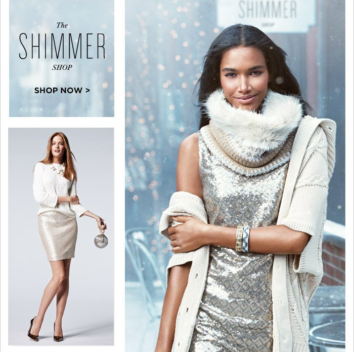 The SHIMMER SHOP | SHOP NOW