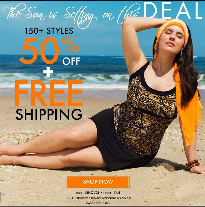 Fall Back Into Savings - 150 Styles 50% OFF + Free Shipping - Code: 13NOV25