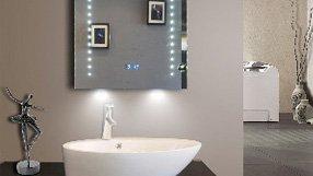 Illuminated Bathroom Mirrors