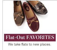 Flat-Out Favorites | We take flats to new places.