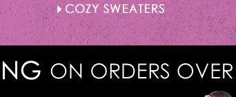SHOP Comfy, Cozy Sweaters!