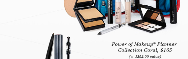 Trish McEvoy's Power of Makeup® Planner Collection Coral